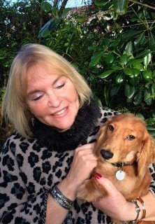 Sandra Strong and puppy dachshund